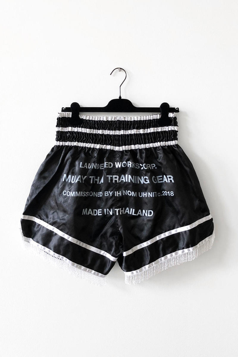 donde comprar pantalones muay thai: LAUNDERED WORKS CORP 2