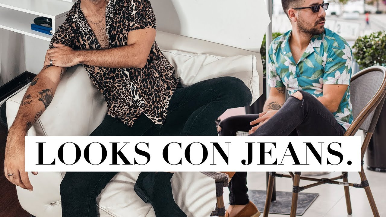 LOOKS masculinos CON JEANS 2