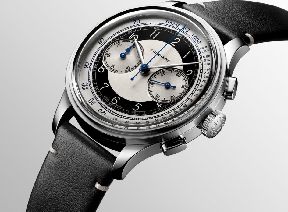 ¿Un reloj fashion para hombre? longines heritage classic tuxedo 3