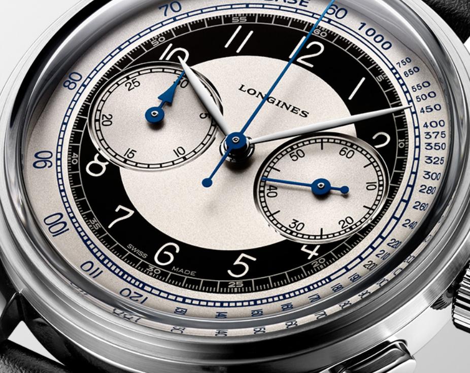 ¿Un reloj fashion para hombre? longines heritage classic tuxedo 2