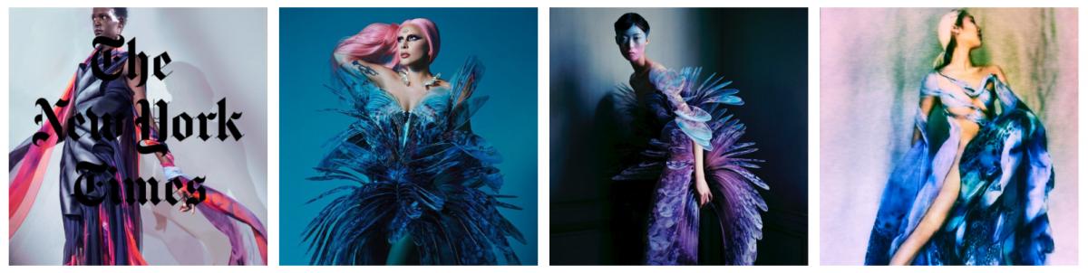 este es el estilo de iris van herpen para 2020 -El vestido 'Transmotion' 14