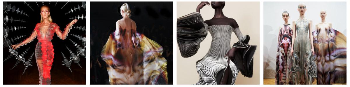 este es el estilo de iris van herpen para 2020 -El vestido 'Transmotion' 12