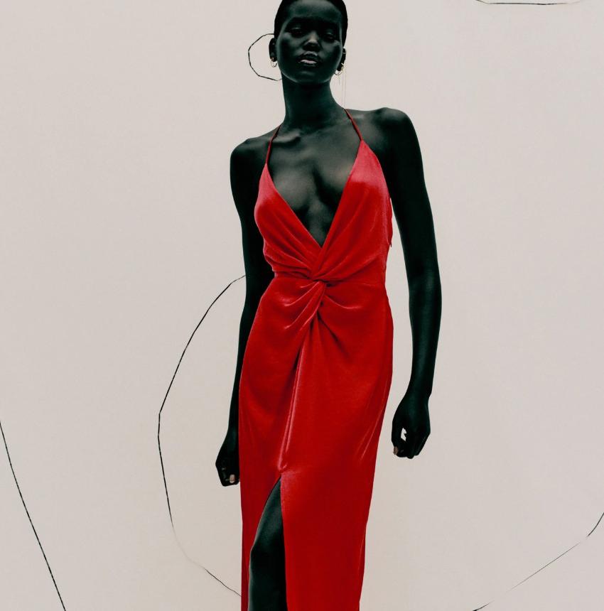 fashion colorado style:la moda en rojo de la compilación de Zara 4