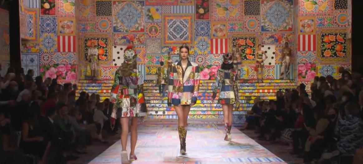 Lo mejor de las semanas de la moda en estos tiempos confusos: Dolce & Gabbana 2