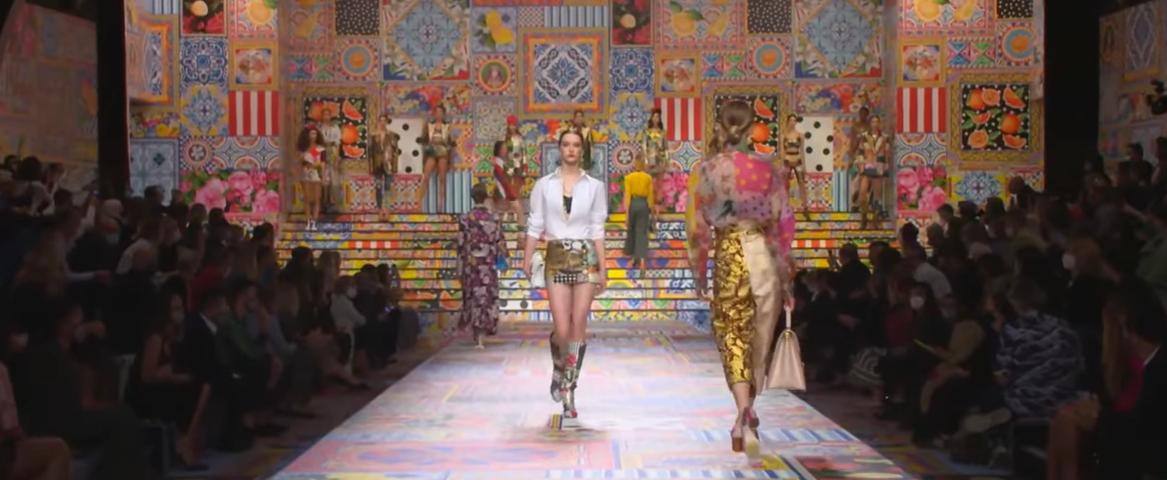 Lo mejor de las semanas de la moda en estos tiempos confusos: Dolce & Gabbana 3