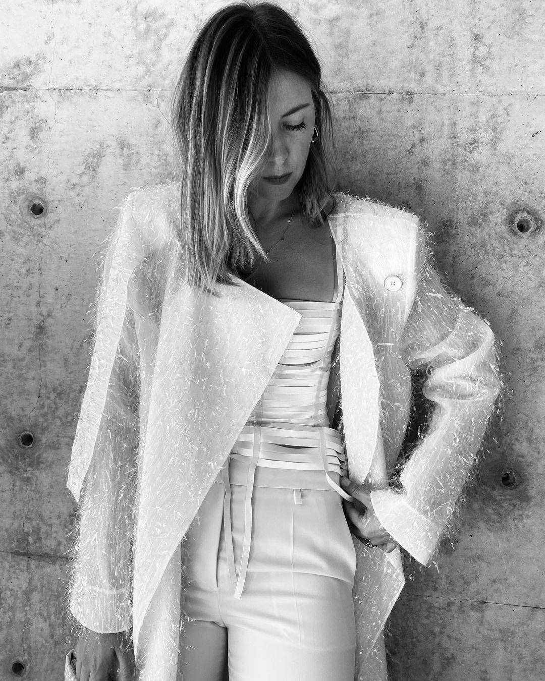 Maria Sharapova:Esto es primavera verano. Colección Givenchy 2021. 4