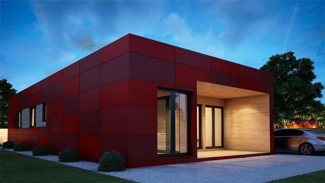 las casas prefabricadas mas bonitas - casas modulares muy fashion 4