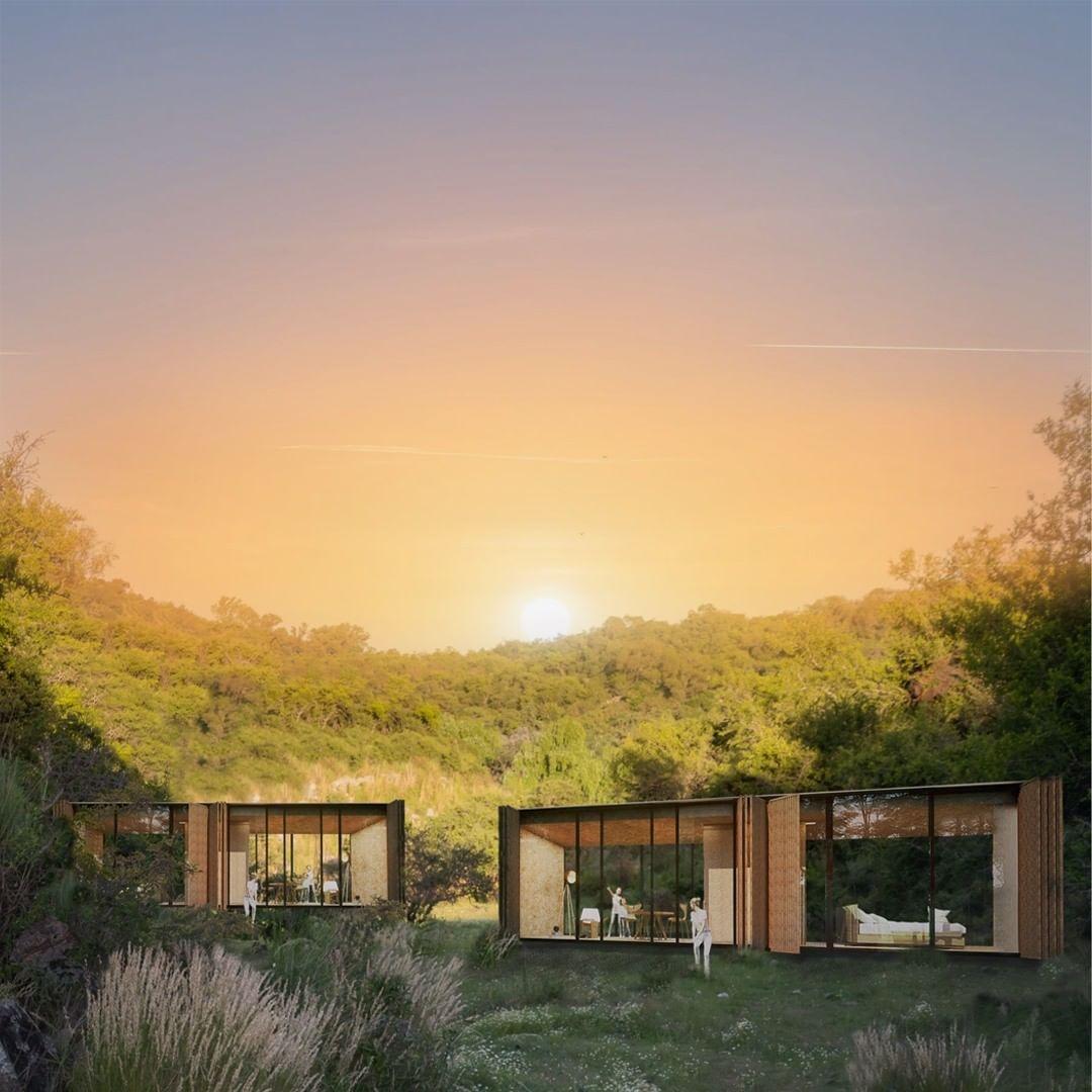 las casas prefabricadas mas bonitas - casas modulares muy fashion 6