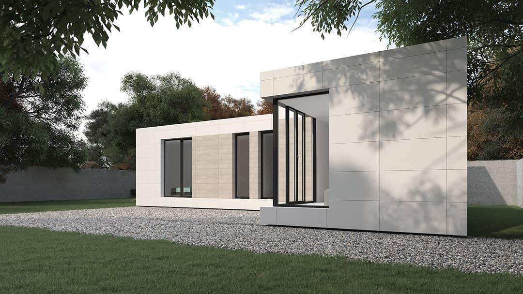 las casas prefabricadas mas bonitas - casas modulares muy fashion 5