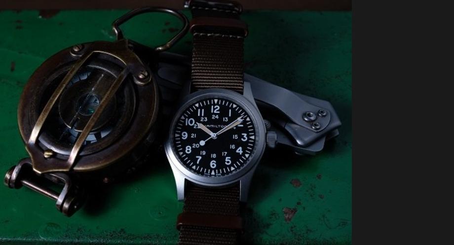en base a los relojes americanos militares más fashion son los relojes de hamilton 1