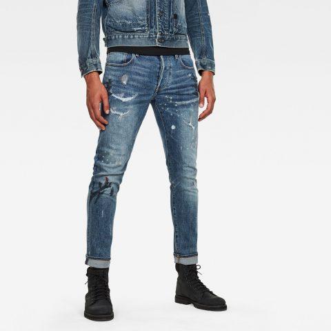 pantalón hombre g-star: Jeans 3301 Slim Azul claro 18