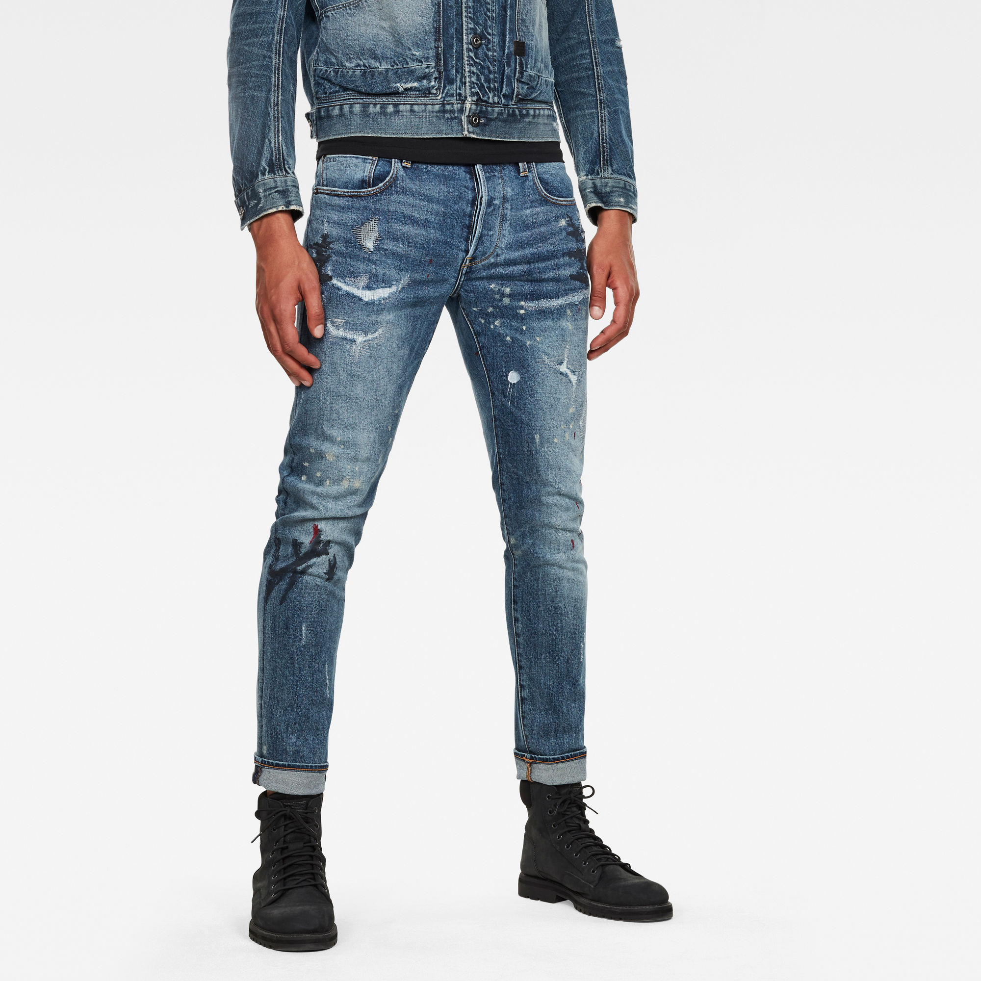 pantalón hombre g-star: Jeans 3301 Slim Azul claro 72