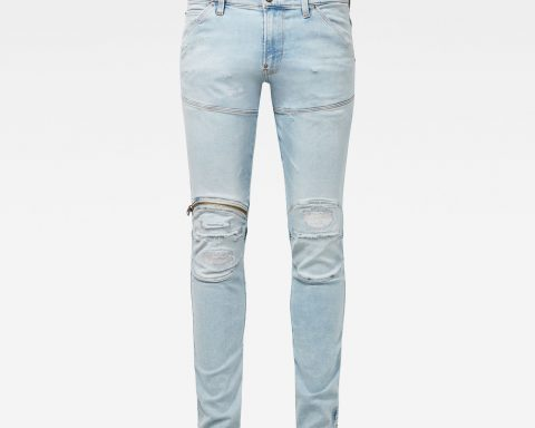 g star raw hombre jeans 5620 3d zip knee skinny 50