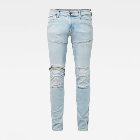 g star raw hombre jeans 5620 3d zip knee skinny 10