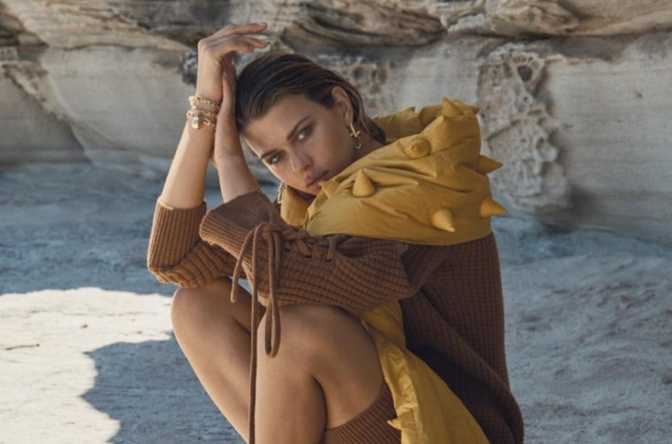 Georgia Fowler sobresale en la portada del Fashion Quarterly New Zealand Summer 2021 2