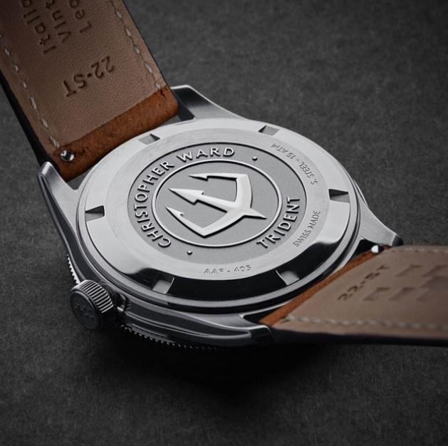 relojes automáticos de buena calidad:christopher ward trident automatic 1