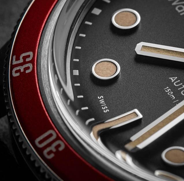 relojes automáticos de buena calidad:christopher ward trident automatic 3