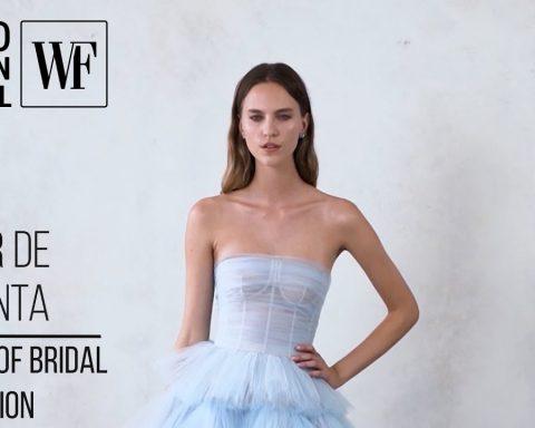 vestidos de novia: colección de primavera 2021 para Oscar de la Renta 22