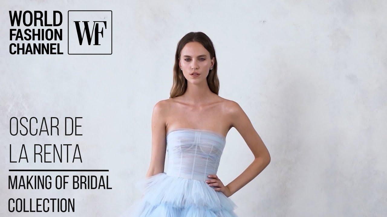 vestidos de novia: colección de primavera 2021 para Oscar de la Renta 1